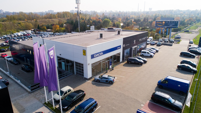 Serwis i Salon Dacia Katowice