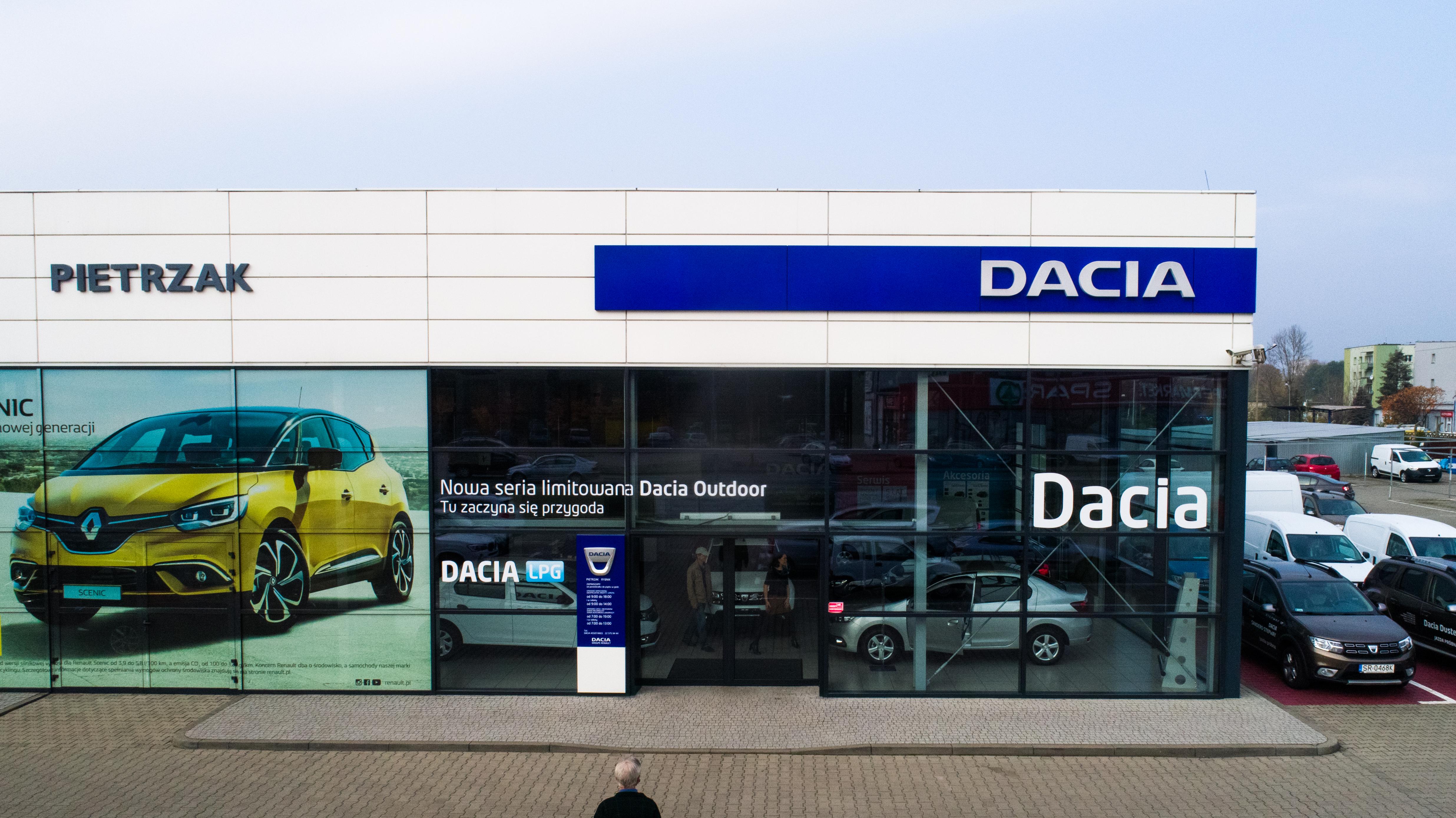 Serwis i Salon Dacia Rybik